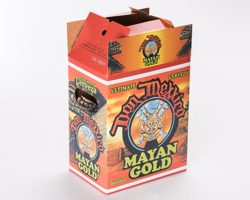 Beer box folding cartons